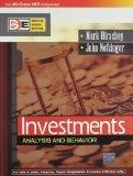 Investments: Analysis And Behavior, 1E(Sie)