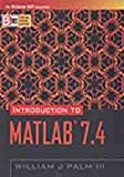 Introduction to MATLAB ® 7.4
