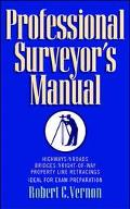 Professional Surveyor's Manual