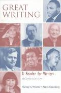 Great Writing A Reader for Writers