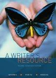 A Writer's Resource : A Handbook for Writing and Research