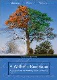 A Writer's Resource - A Handbook for Writing and Research - Canadian Ediiton
