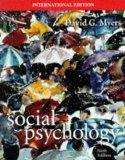 Social Psychology (McGraw-Hill International Editions)