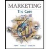 Marketing: The Core, International Edition