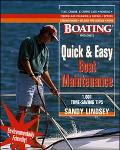 Boating Magazine's Quick & Easy Boat Maintenance 1001 Time-Saving Tips