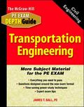 McGraw-Hill Civil Engineering Pe Exam Depth Guide Transportation Engineering