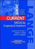 Current Medical Diagnosis and Treatment 2001