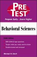 Behavioral Sciences Pre Test Self-Assessment and Review