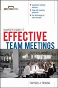 Manager's Guide to Effective Meetings