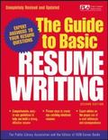 Guide to Basic Resume Writing