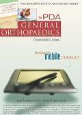 Orthopaedic Pocket Procedures for Pda General Orthopaedics