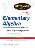 Theory and Problems of Elementary Algebra