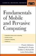 Fundamentals of Mobile and Percasive Computing