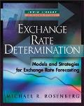 Exchange-Rate Determination Models and Strategies for Exchange Rate Forecasting