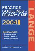 Current Practice Guidelines In Primary Care 2004 For Pda