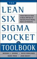 Lean Six Sigma Pocket Toolbook A Quick Reference Guide tonearly 100 Tools for Improving Proc...