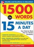 1,500 Words In 15 Minutes A Day A Year-Long Plan To Learn 28 Words A Week