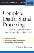 Complete Digital Signal Processing Filters, Algorithms, and Real-Time Examples