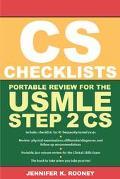 CS Checklists Portable Review for the USMLE Step 2 CS