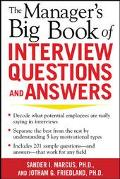 Manager's Big Book Of Interview Questions And Answers