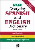 Vox Everyday Spanish And English Dictionary English-Spanish/Spanish-English
