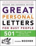 Great Personal Letters for Busy People 501 Ready-to-use Letters for Every Occasion