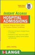 Lange Instant Access Hospital Admissions Essential Evidence-based Orders for Common Clinical...