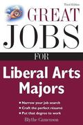 Great Jobs for Liberal Arts Majors