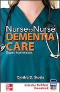 Nursing Care for Clients With Dementia