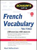 Schaum's Outline of French Vocabulary, 3ed