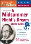 McGraw-Hill's PodClass A Midsummer Night's Dream Study Guide (MP3 Disk)