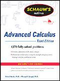 Schaum's Outline of Advanced Calculus, Third Edition (Schaum's Outline Series)
