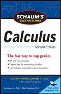 Schaum's Easy Outline of Calculus (Schaum's Easy Outlines)