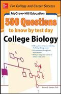 McGraw-Hill's 500 College Biology Questi Ons to Know by Test Day