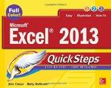 Microsoft Excel 2013 QuickSteps