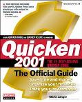 Quicken 2001:official Guide