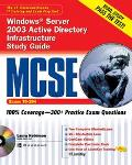 McSe Windows Server 2003 Active Directory Infrastructure Exam 70-294