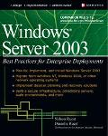 Windows Server 2003 Best Practices for Enterprise Deployments