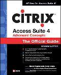Citrix Access Suite 4 Advanced Concepts The Official Guide