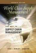World Class Supply Management