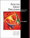 Effective Group Discussion Theory and Practice