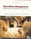 Operations Management Meeting Customers' Demands, 7th Edition