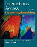 Interactions Access : A Listening / Speaking Book