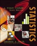 Statistics A 1st Course