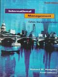 International Management Culture, Strategy and Behavior/With World Atlas