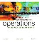 Fundamentals of Operations Management