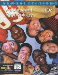 Adolescent Psychology 01/02