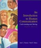 An Introduction to Human Communication: Understanding and Sharing with Testprep CDROM