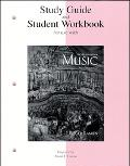 Music An Appreciation  Study Guide and Student Workbook