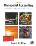 Managerial Accounting Creating Value in a Dynamic Business Environment